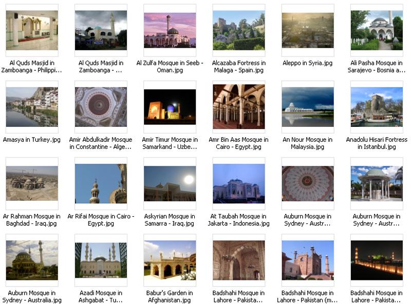 Gambar Masjid Dan Arsitek Islam Wallpaper Islami